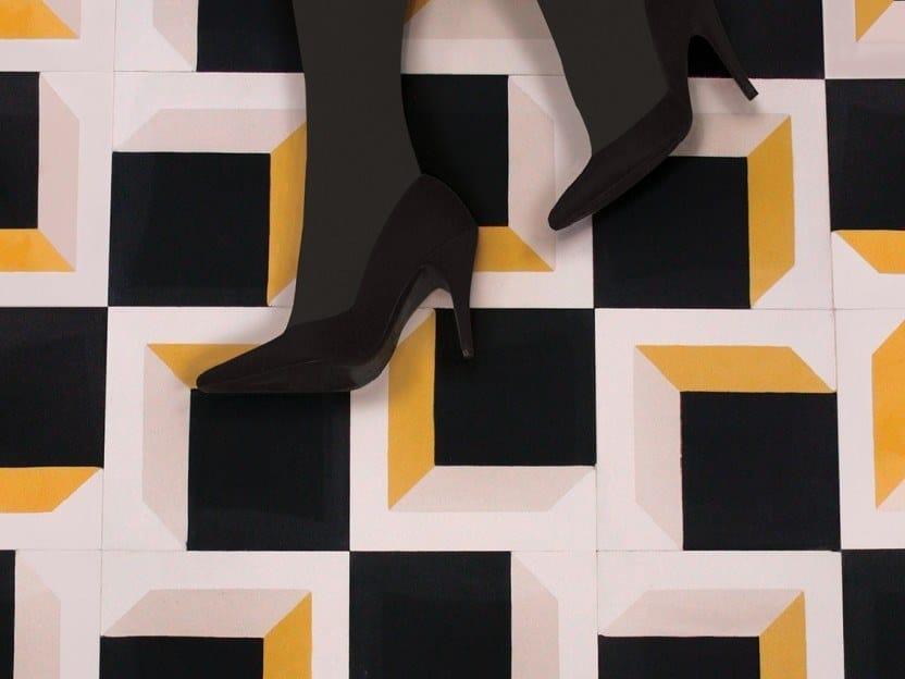 Cement wall/floor tiles N°7 | Wall/floor tiles by BEAUREGARD