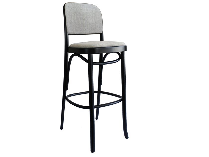 High beech stool N. 811 | Stool by Wiener GTV Design