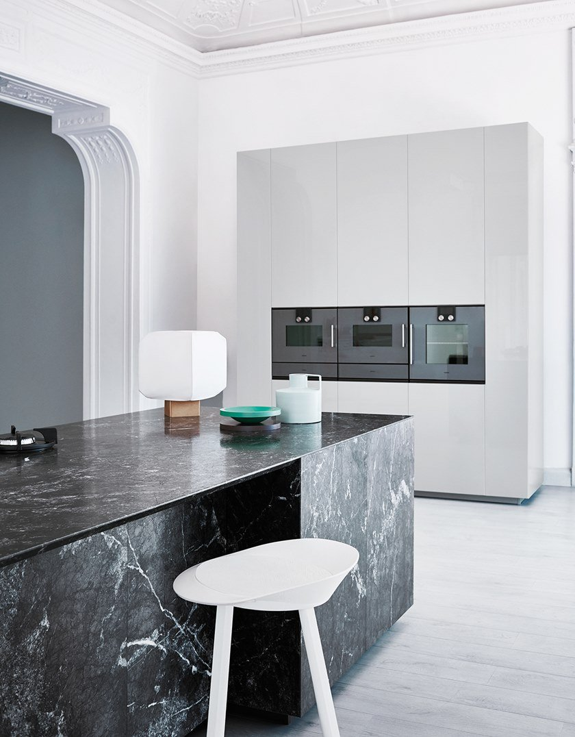 Kitchen with island N_ELLE - UNEXPECTED CONTRAST N_Elle Collection ...