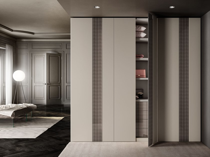 Sectional wardrobe N.O.W. QUICK by Lago