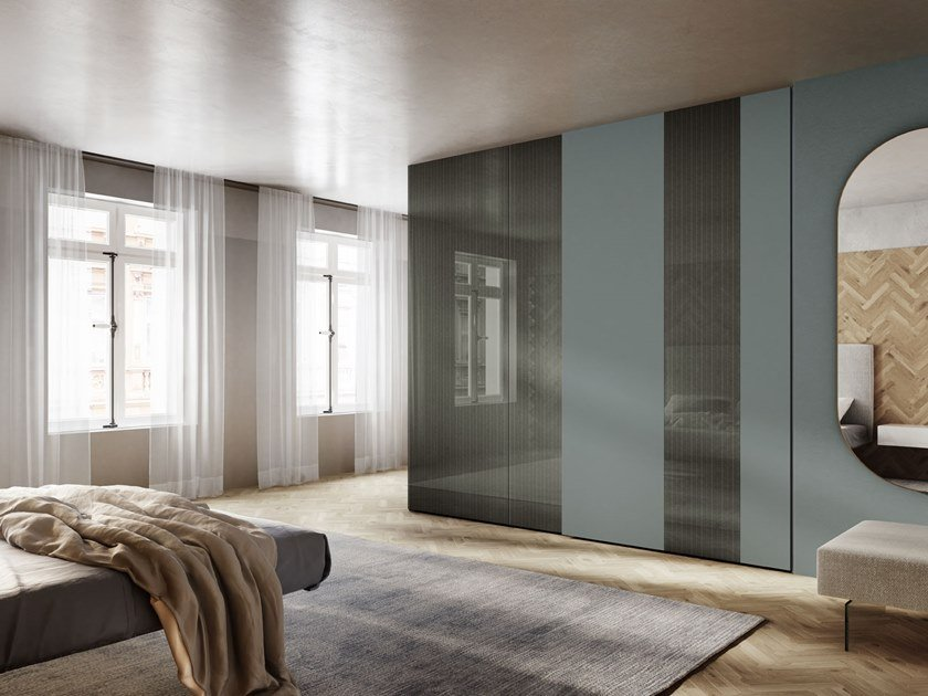 Wardrobe with sliding doors N.O.W. | Wardrobe with sliding doors by Lago