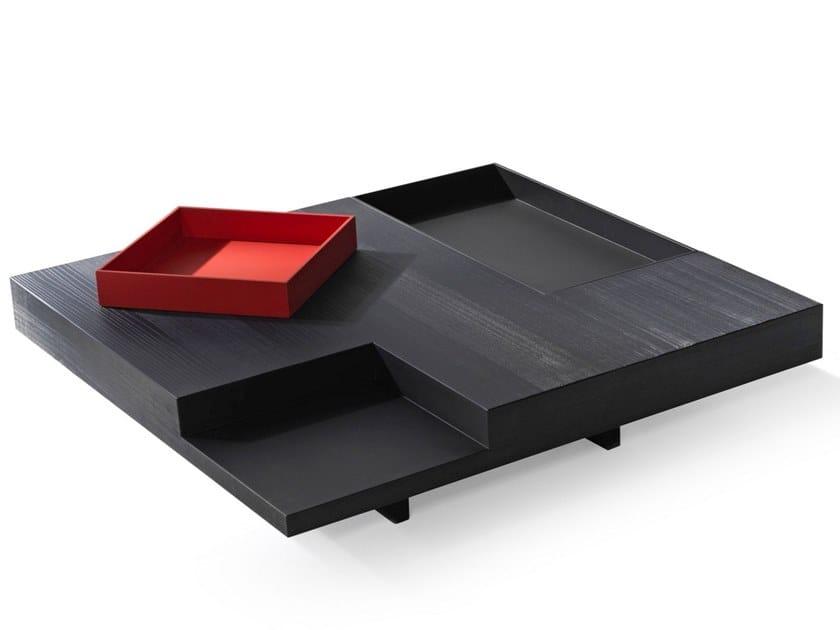 Tavolino basso quadrato in legno N.Y. | Tavolino quadrato by ALBEDO