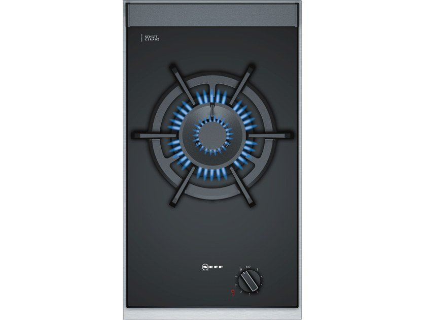 Gas built-in glass ceramic hob N23TA19N0 | Gas hob by Neff