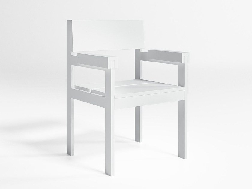Garden chair with armrests NA XEMENA | Chair with armrests by GANDIA BLASCO