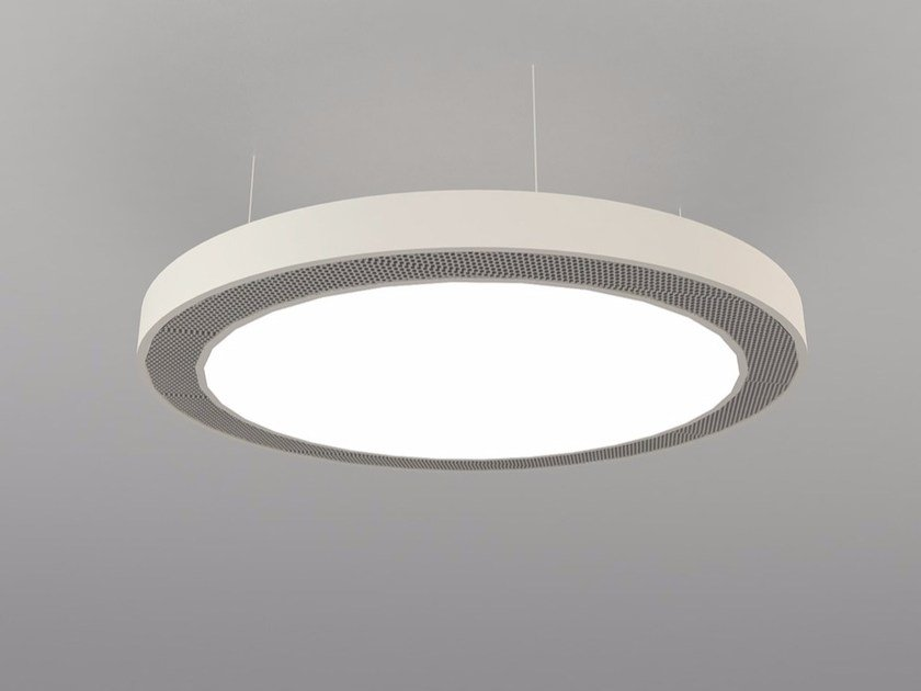 LED pendant lamp NAA D600-900-1200 DB by Neonny