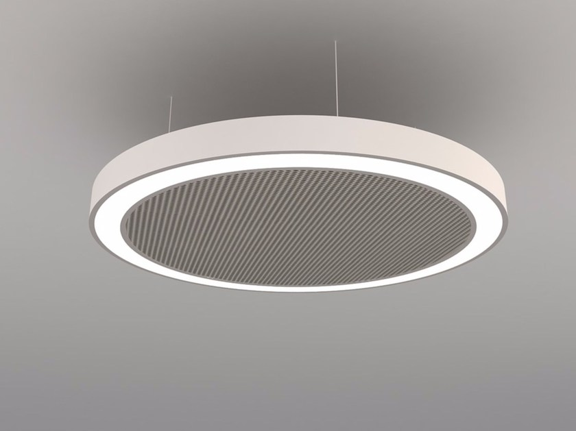 LED pendant lamp NAA D600-900-1200 FB by Neonny