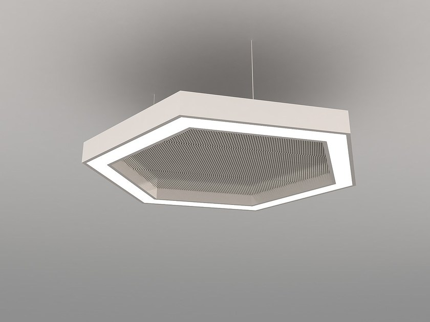 LED pendant lamp NAA H600-900-1200 FB by Neonny