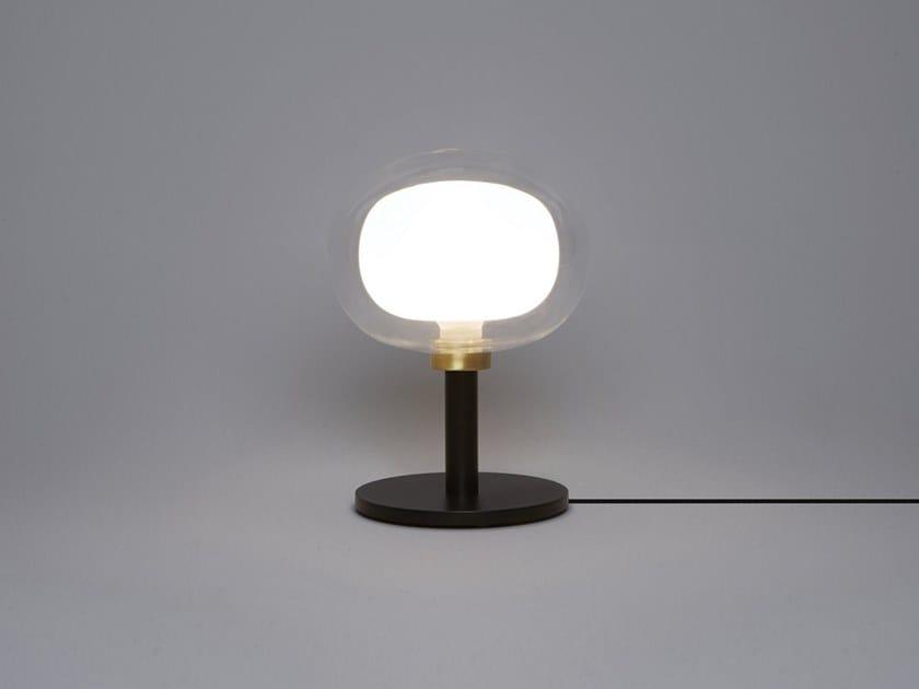 Borosilicate glass bedside lamp NABILA | Bedside lamp by Tooy