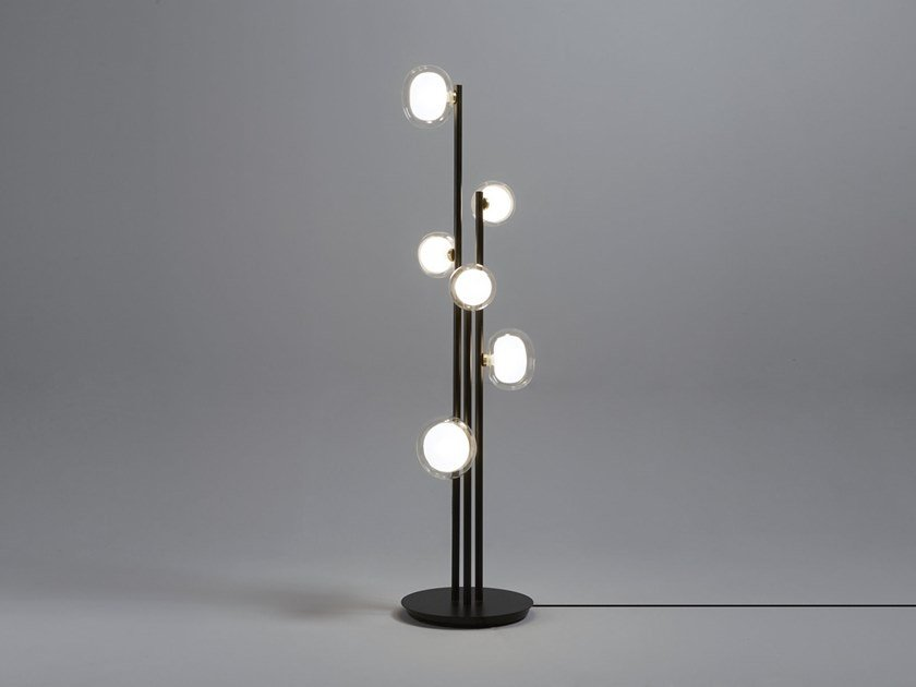 Metal floor lamp NABILA | Floor lamp by Tooy