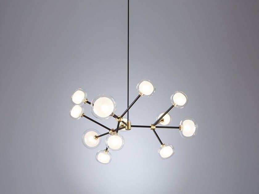 Metal pendant lamp NABILA | Pendant lamp by Tooy