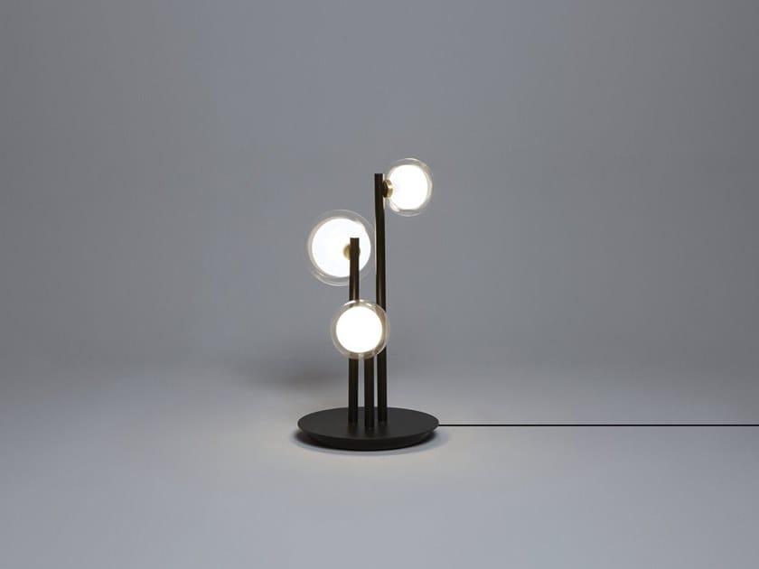 Metal table lamp NABILA | Table lamp by Tooy