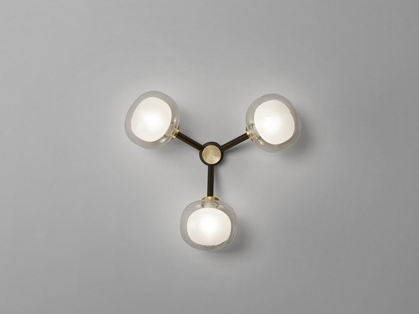 Nabila Lampada Da Parete Collezione Nabila By Tooy Design Corrado Dotti