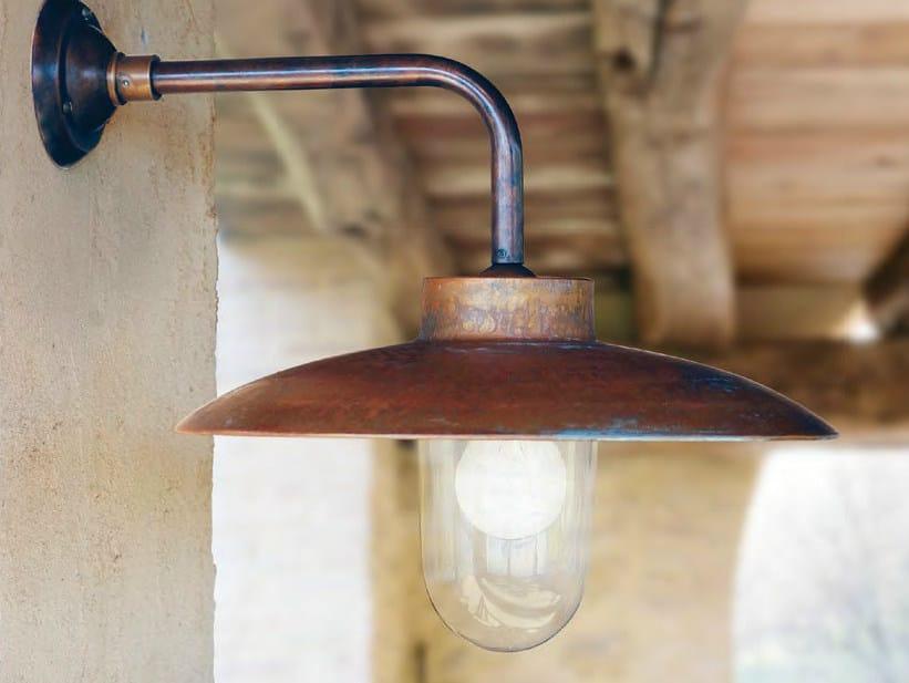 Direct-indirect light metal wall lamp NABUCCO | Wall lamp by Aldo Bernardi