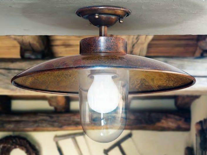 Metal ceiling lamp NABUCCO   Ceiling lamp by Aldo Bernardi
