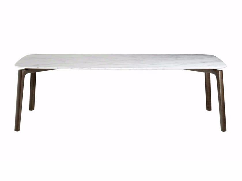 Rectangular table NABUCCO by Poltrona Frau