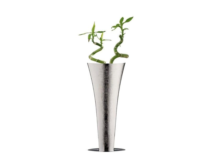 Silver vase NACO   Silver vase by ZANETTO
