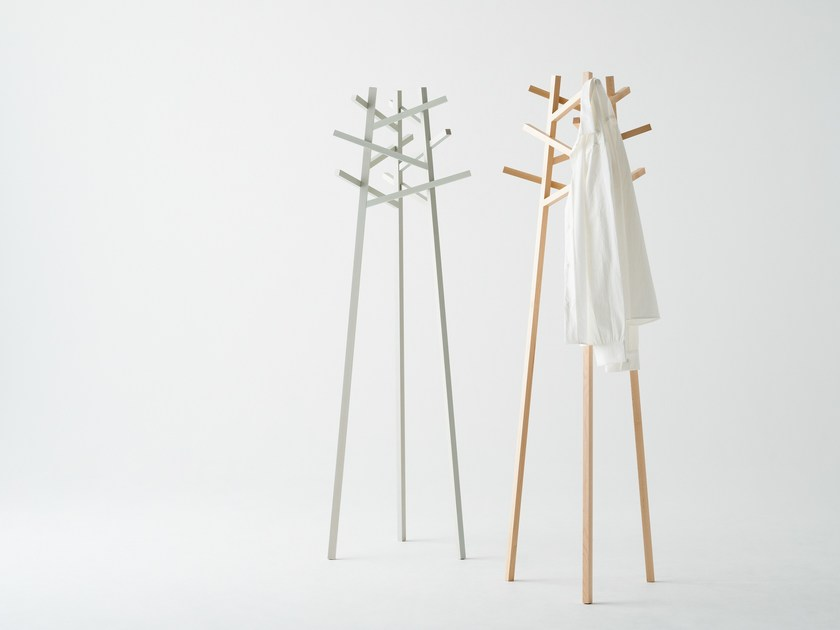 Wooden coat rack NADIA | Coat rack by MEETEE