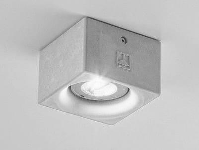 Ceiling spotlight NADIR 1/C by Aldo Bernardi