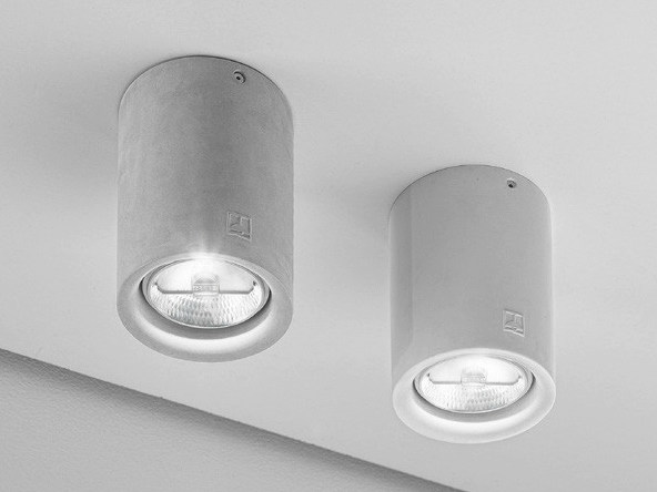 Ceiling spotlight NADIR 14 by Aldo Bernardi