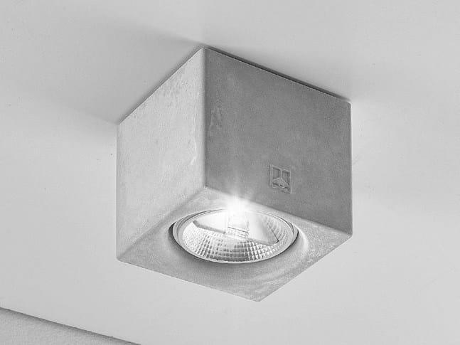 Ceiling spotlight NADIR 4/C by Aldo Bernardi