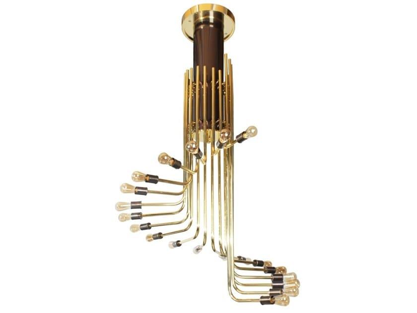 Brass pendant lamp NAGOYA by Creativemary