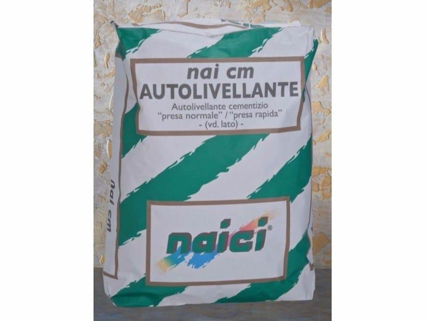 Self-levelling screed NAI CM AUTOLIVELLANTE by NAICI ITALIA