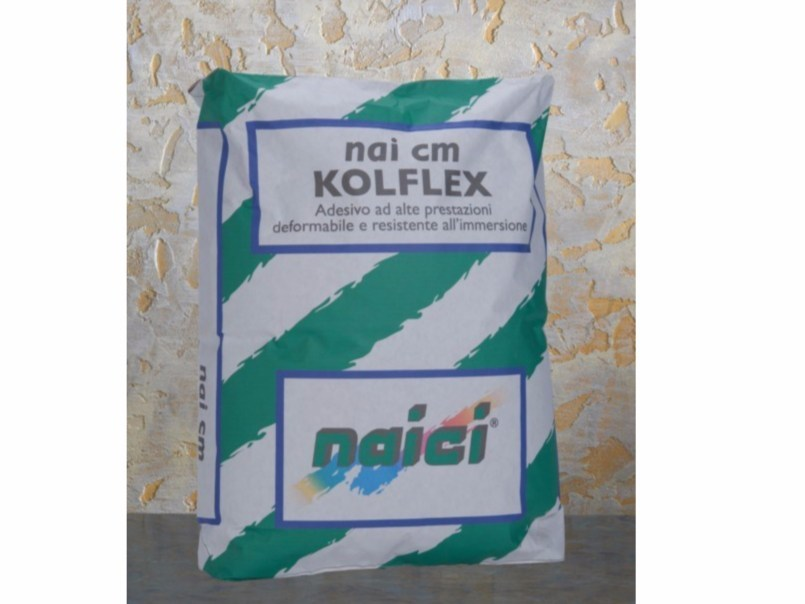 Cement adhesive for flooring NAI CM KOLFLEX by NAICI ITALIA