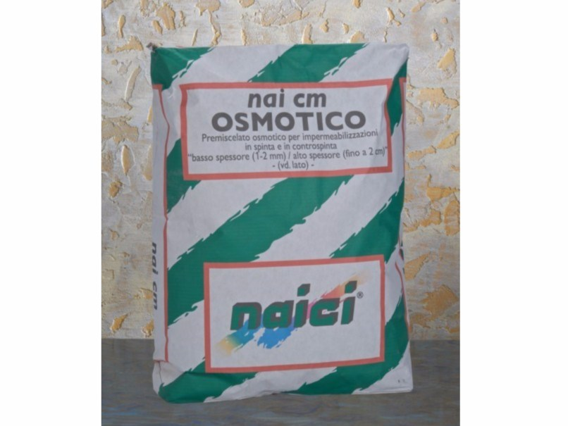 Cement-based waterproofing product NAI CM OSMOTICO by NAICI ITALIA