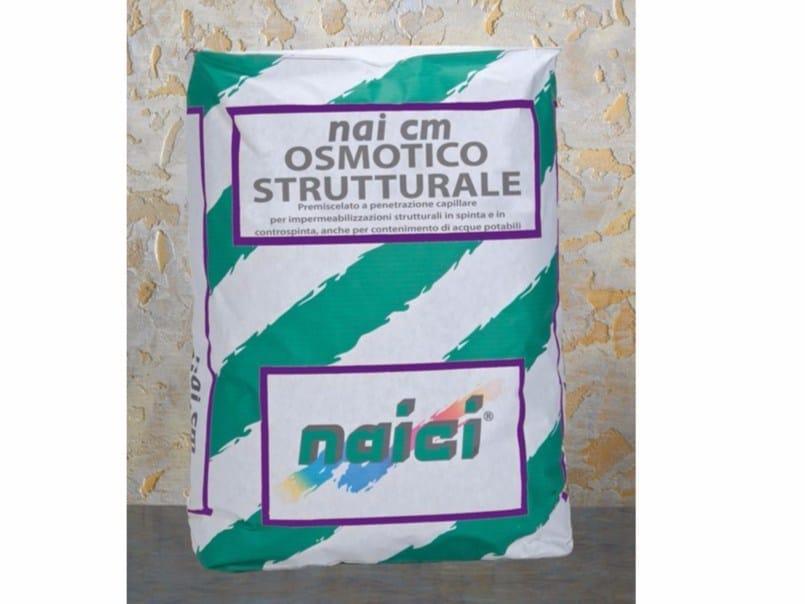 Additive for cement and concrete NAI CM OSMOTICO STRUTTURALE by NAICI ITALIA