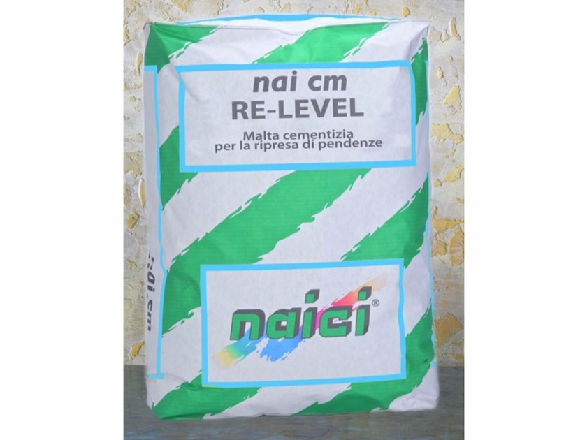 Screed and base layer for flooring NAI CM RE-LEVEL by NAICI ITALIA