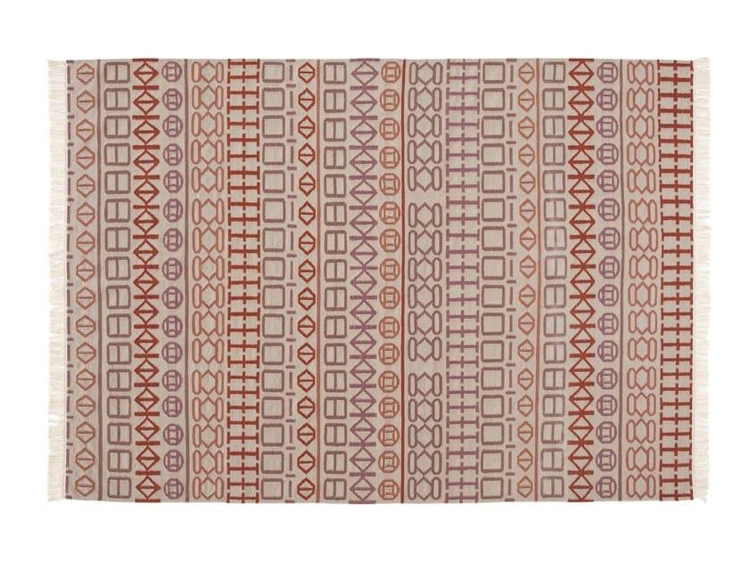 Handmade wool rug NAIDU by GAN