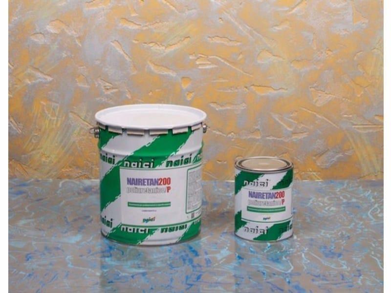 Liquid waterproofing membrane NAIRETAN 200 POLIURETANICO/G by NAICI ITALIA