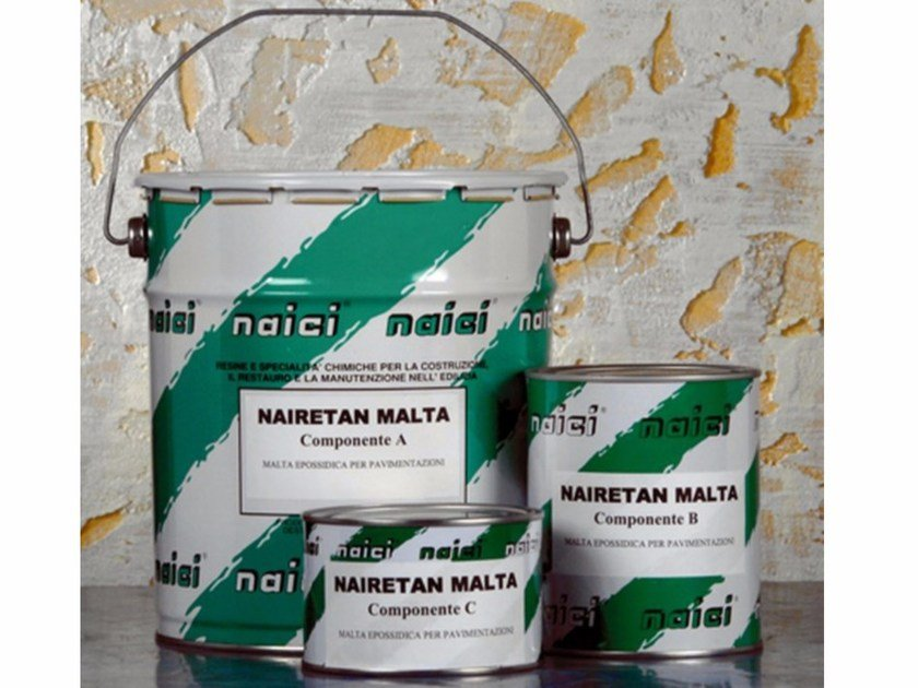 Screed and base layer for flooring NAIRETAN MALTA by NAICI ITALIA