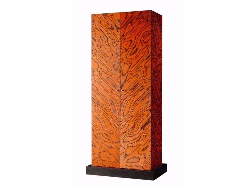 Wood veneer bar cabinet NAIROBI 7500 by Zanotta