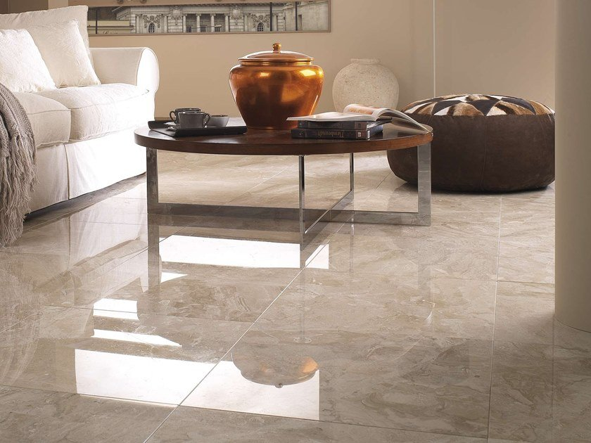 Indoor marble wall/floor tiles NAIROBI CREMA by L'ANTIC COLONIAL