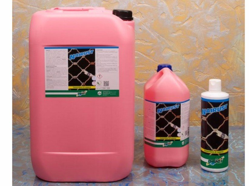 Rust prevention and converter product NAIRUST by NAICI ITALIA