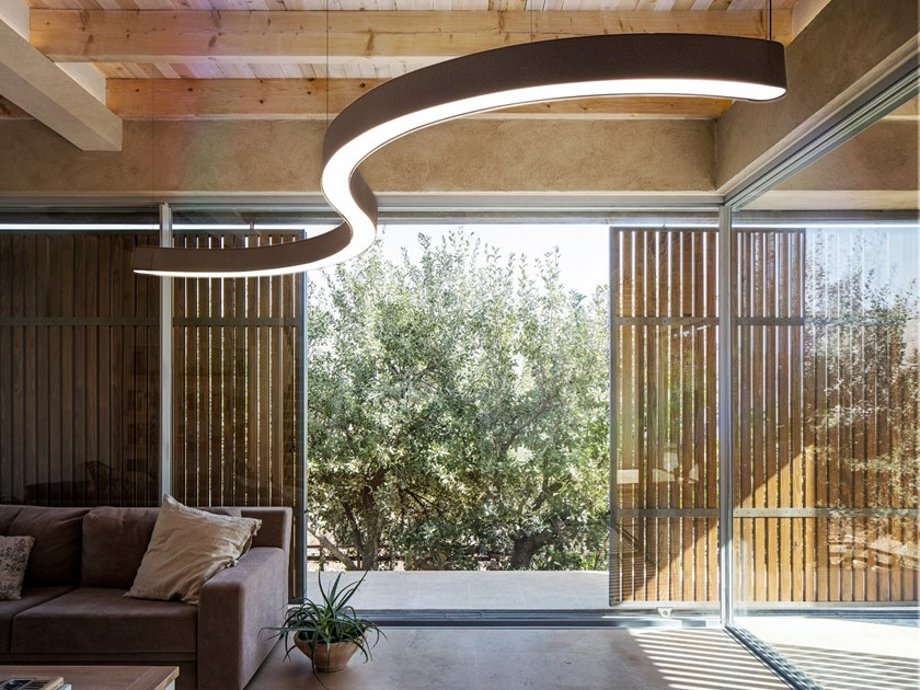LED pendant lamp SNAKE 110/12 by Gibas