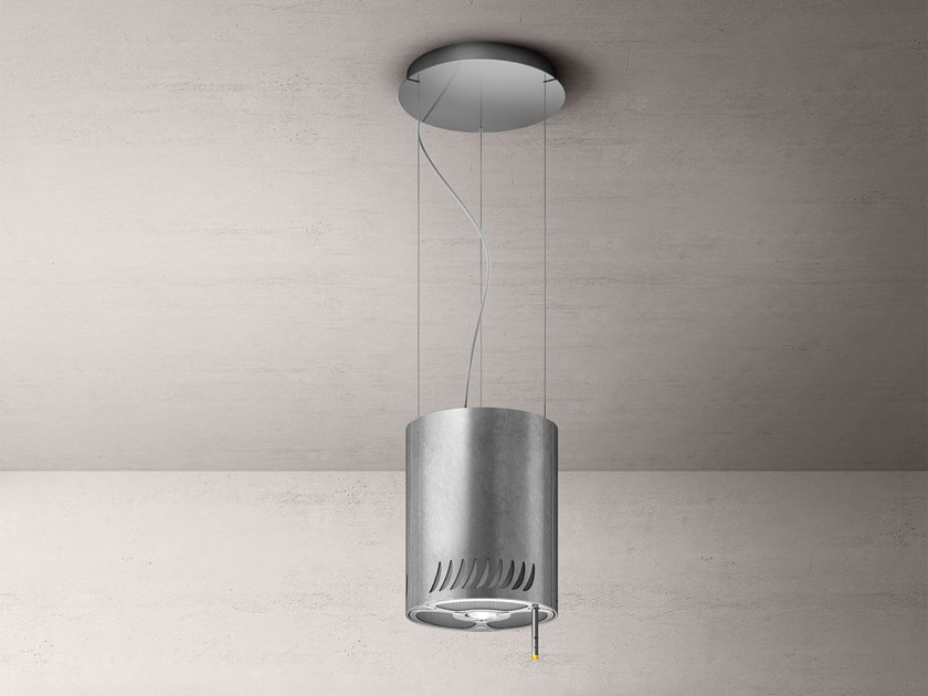 Island hood with integrated lighting NAKED URBAN by Elica