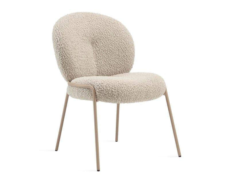Upholstered fabric chair NANA | Chair by Freifrau