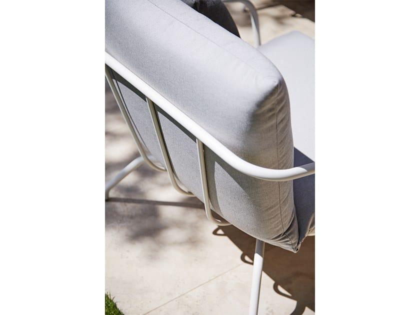 NANSA | Poltrona da giardino con braccioli