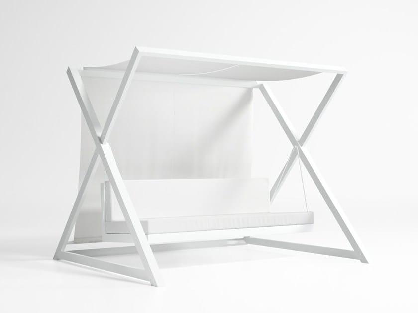 Balancelle de jardin 3 places en aluminium NAO - NAO By GANDIA ...