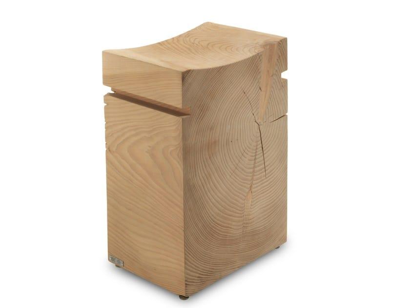 Cedarwood stool NAPA & NAPA BIG by Riva 1920