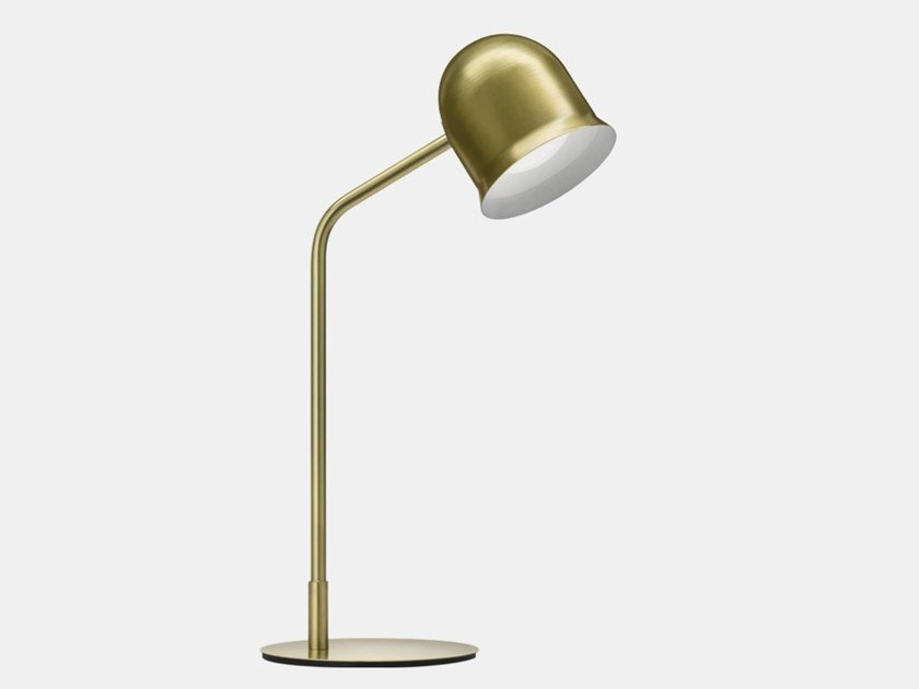 Adjustable metal table lamp with fixed arm NARCISO G3 by Il Fanale