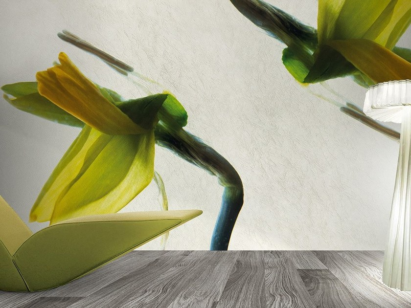 Vinyl or fyber glass wallpaper NARCISO by N.O.W. Edizioni