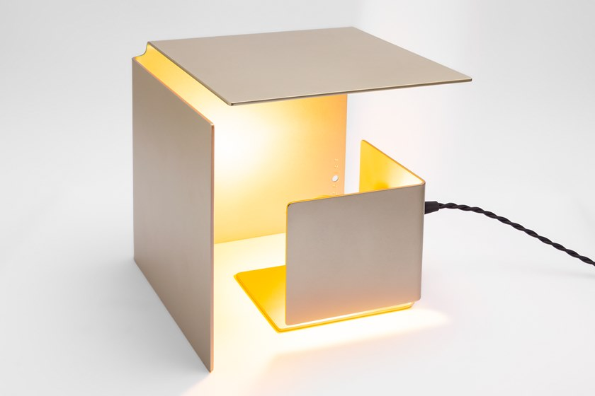 Alluminio Lampada Gold Orientabile Tavolo Led In Da Sologgetti A NascondinoPearl oxdCerB