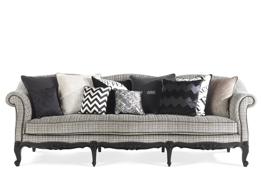 3 Seater Fabric Sofa Nashville By