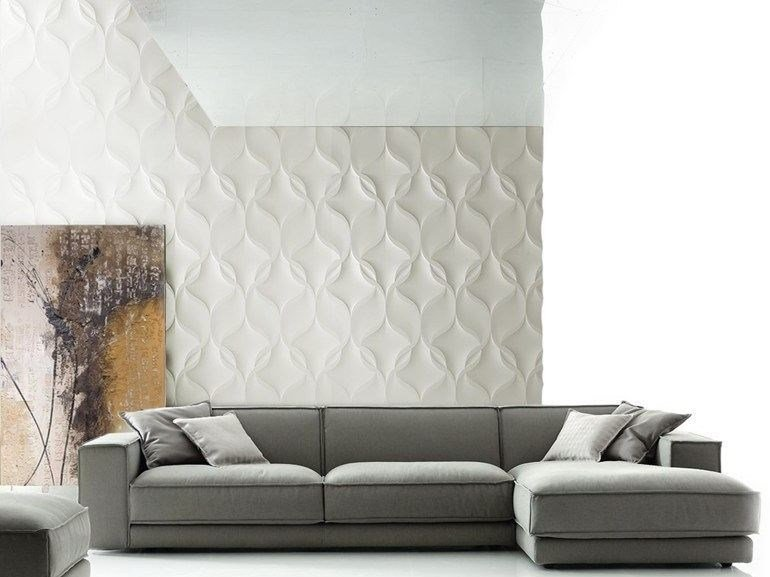 Modular indoor/outdoor 3D Wall Panel NASTRI by 3D Surface