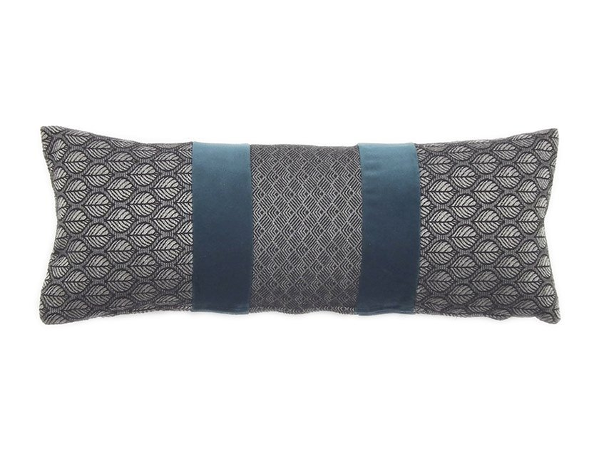 Rectangular fabric cushion NASTRO 231-13 by l'Opificio