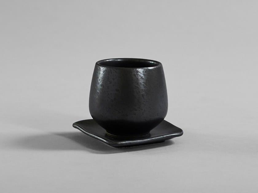 Tazza da caffè in ceramica con piattino NATIVE | Tazza con piattino by 101 Copenhagen