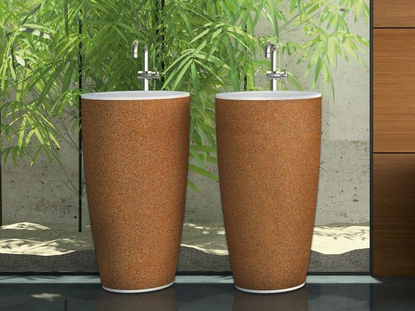 Freestanding washbasin NATUR by AMA Design